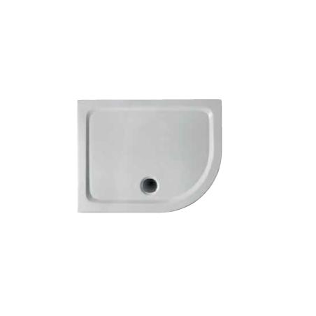 Piatto doccia Soft semicircolare lato sinistro
