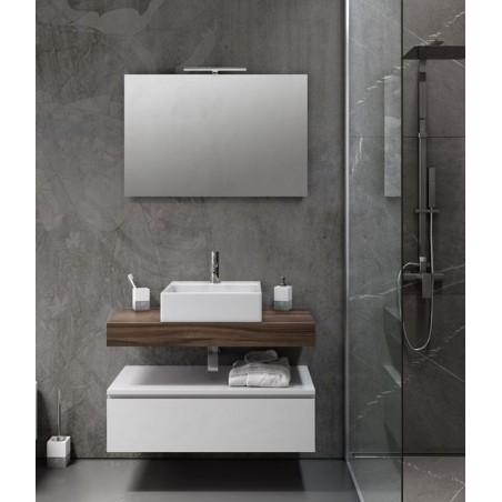 """Composizione mobile bagno """"Surf 90"""" + miscelatore lavabo """"Timea"""""""