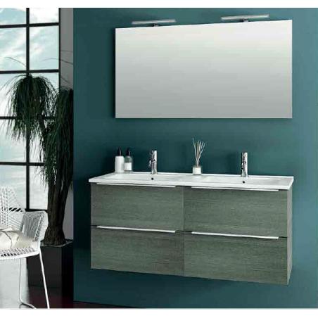 """Mobile bagno """"Chiara 120"""" doppia vasca"""