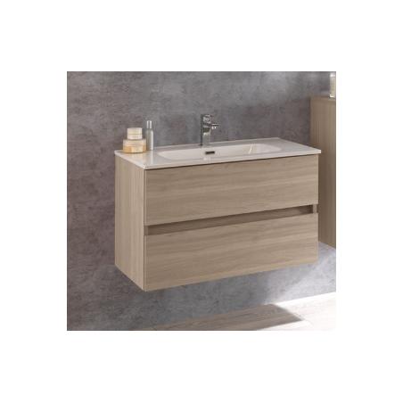 Base portalavabo 2 cassetti + lavabo - Kora 11