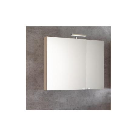 Specchio contenitore 2 ante con Led - Kora 11