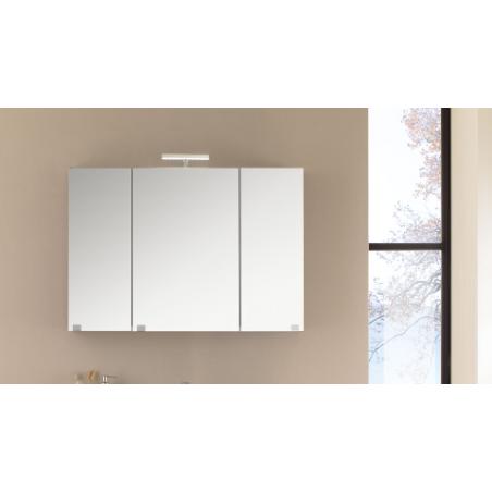 Specchio contenitore 3 ante con Led - Kora 14