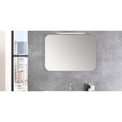 Specchio a muro con angoli...