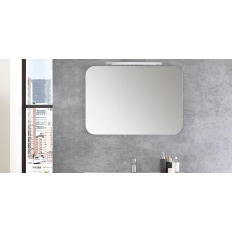 Specchio a muro con angoli arrotondati - Best 01